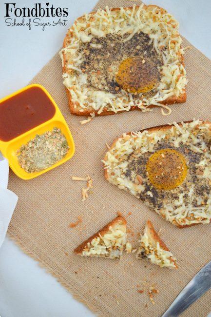 #92 – Baked Egg Toast
