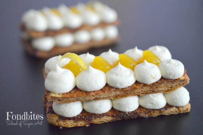 Bake Along #123 – Mango Mille Feuille