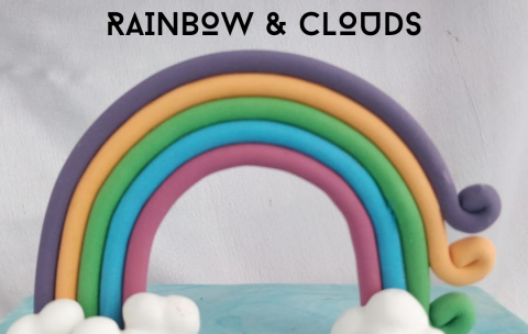 Day 14 - RAINBOW & CLOUDS