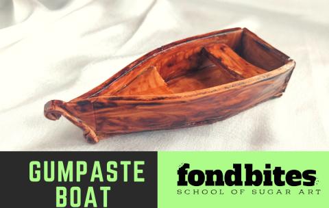 Day17-Gumpaste Boat